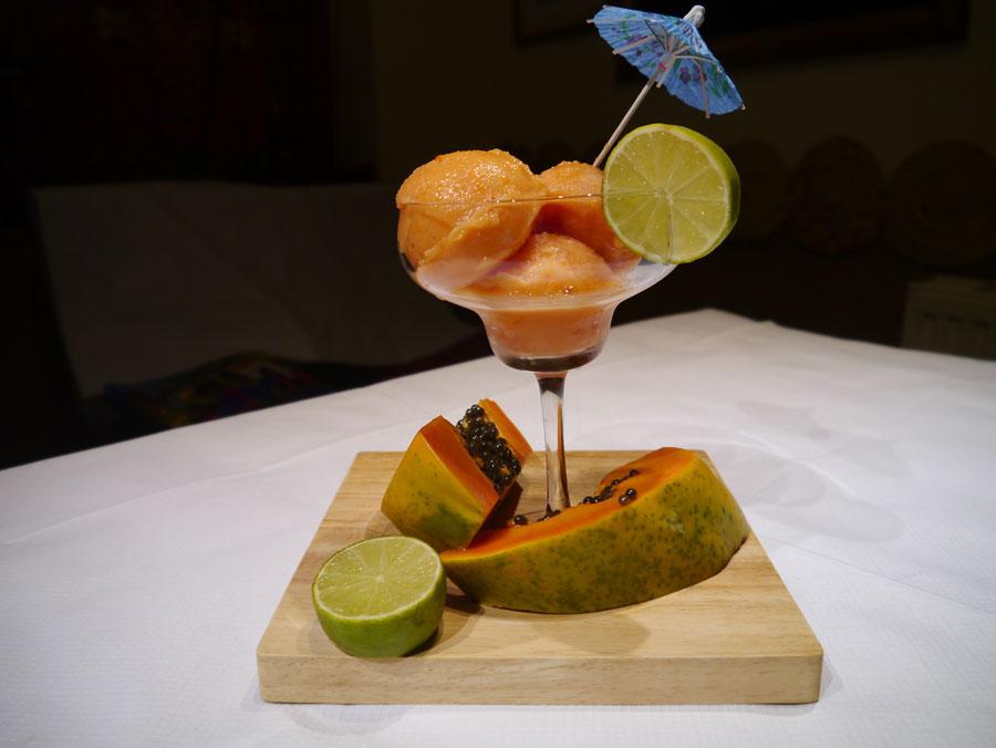 Papaye-Sorbet